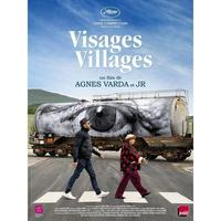 Affiche du film Visages Villages à Saint-Auban